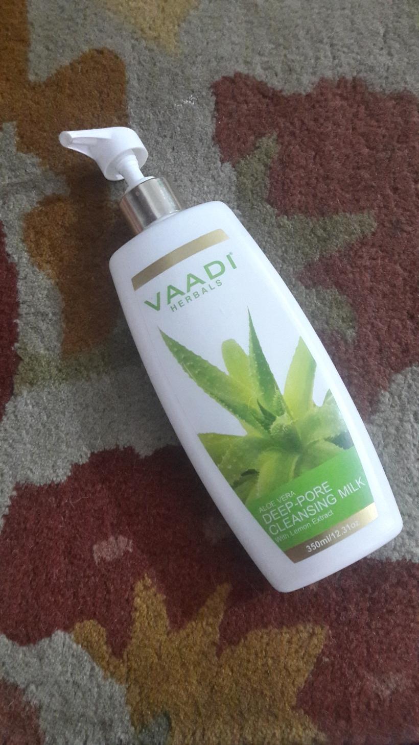 VAADI Herbals Aloe Vera Deep-Pore Cleansing Milk Review